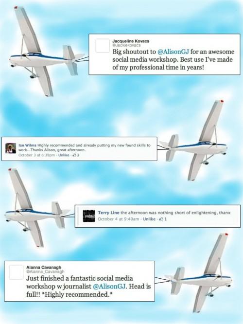 Final Plane Testimonial