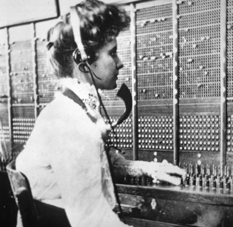 This is not grandma, but it was taken during the time when she too was a switchboard operator.