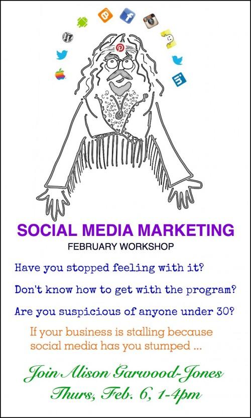 February Social Media Poster