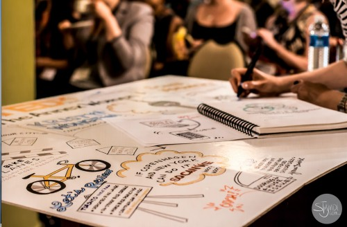 Drawing at TEDx Toronto
