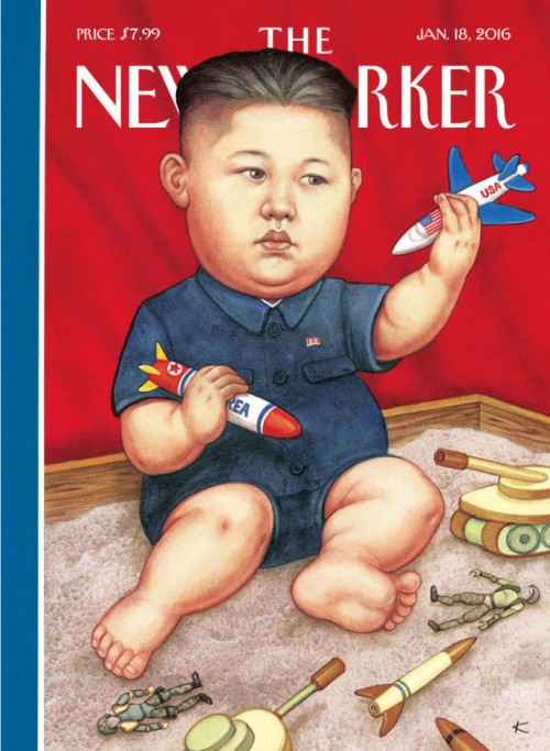 New Toys, New Yorker cover by Anita Kunz