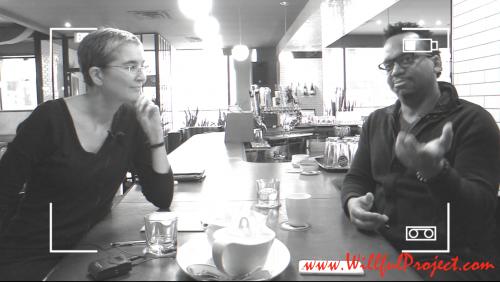 Alison Garwood-Jones interviews Ricardo McRae
