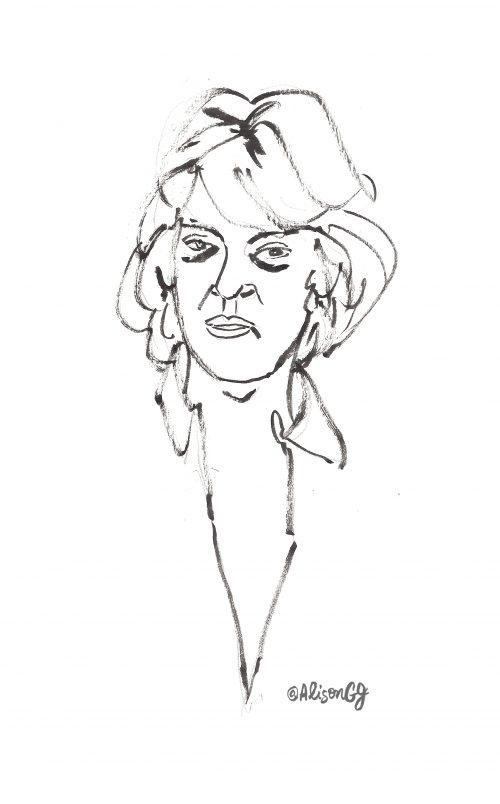Portrait Sketch by Alison Garwood-Jones