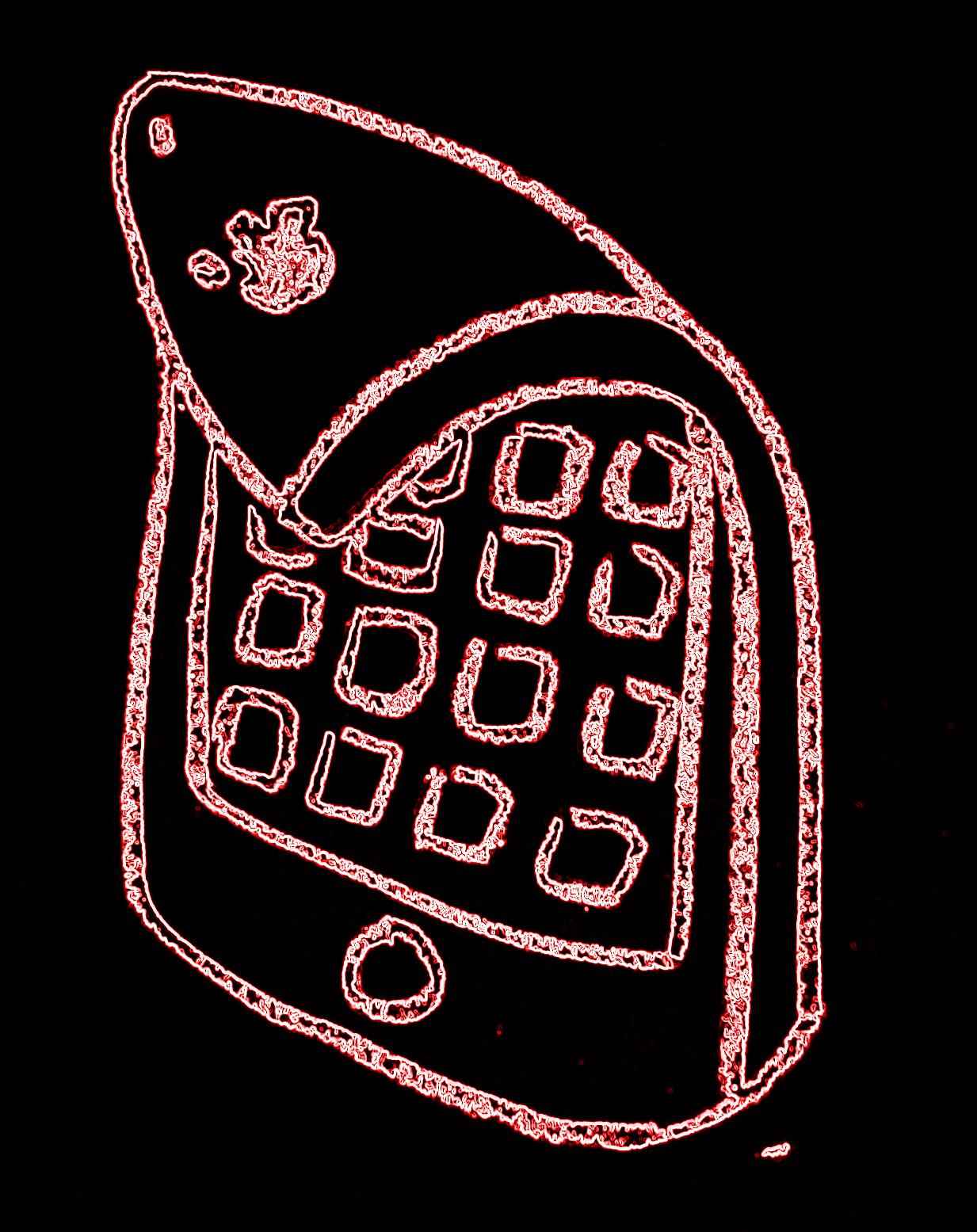 Neon iPhone