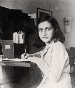 Anne at her desk 2