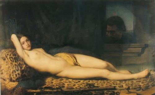 1845 Trutat Felix Repos et desirs ou la bacchante