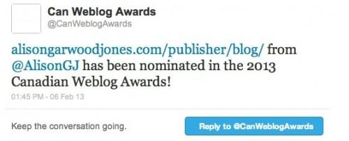 Canadian Weblog Awards