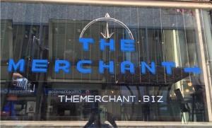 The Merchant Tavern, Toronto: Window Chalk Art.