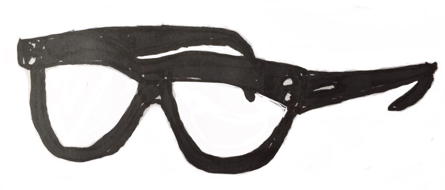 Walter Cronkite Glasses