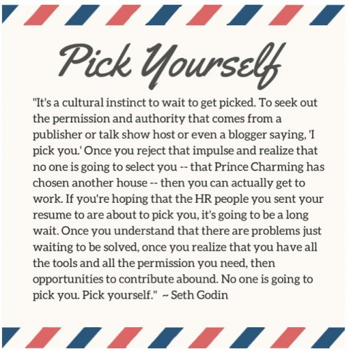 Pick Yourself by Seth Godin