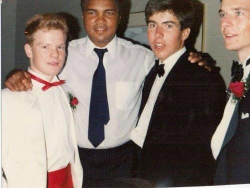 Muhammad Ali with my classmates