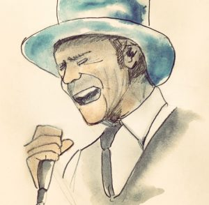 Drawing of Gord Downie