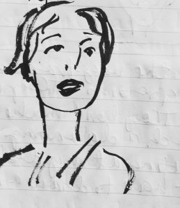 PenBrush sketch by Alison Garwood-Jones