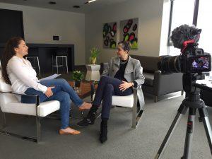 Nargiz Mammadova interviewing Alison Garwood-Jones on Insights with Nargiz
