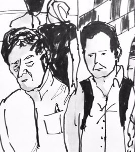 Rush Hour sketch by Alison Garwood-Jones