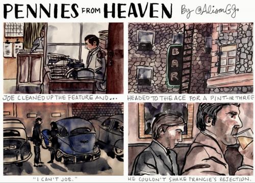 Comic strip by Alison Garwood-Jones