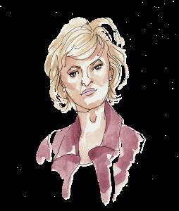 Tina Brown, illustration by Alison Garwood-Jones