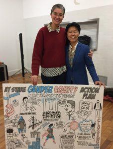 Alison Garwood-Jones with Kristyn Wong-Tam