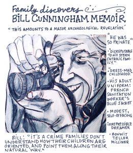 Bill Cunningham memoir discovered