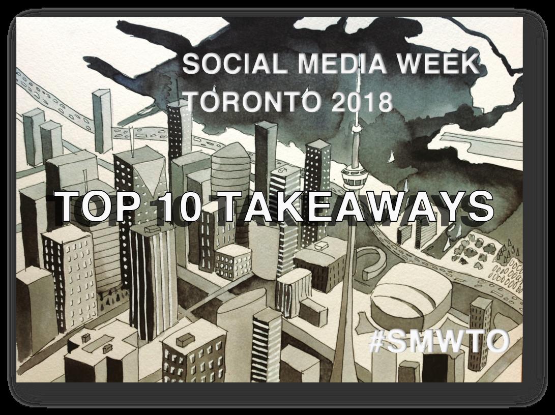 #SMWTO Social Media Week Toronto 2018