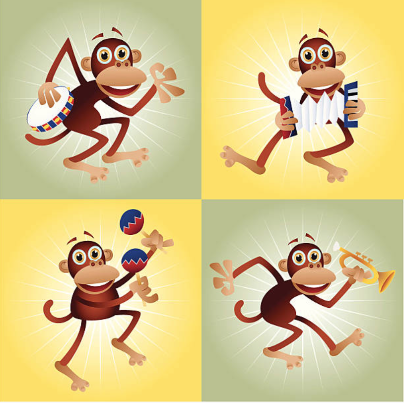 Getty Images of monkeys