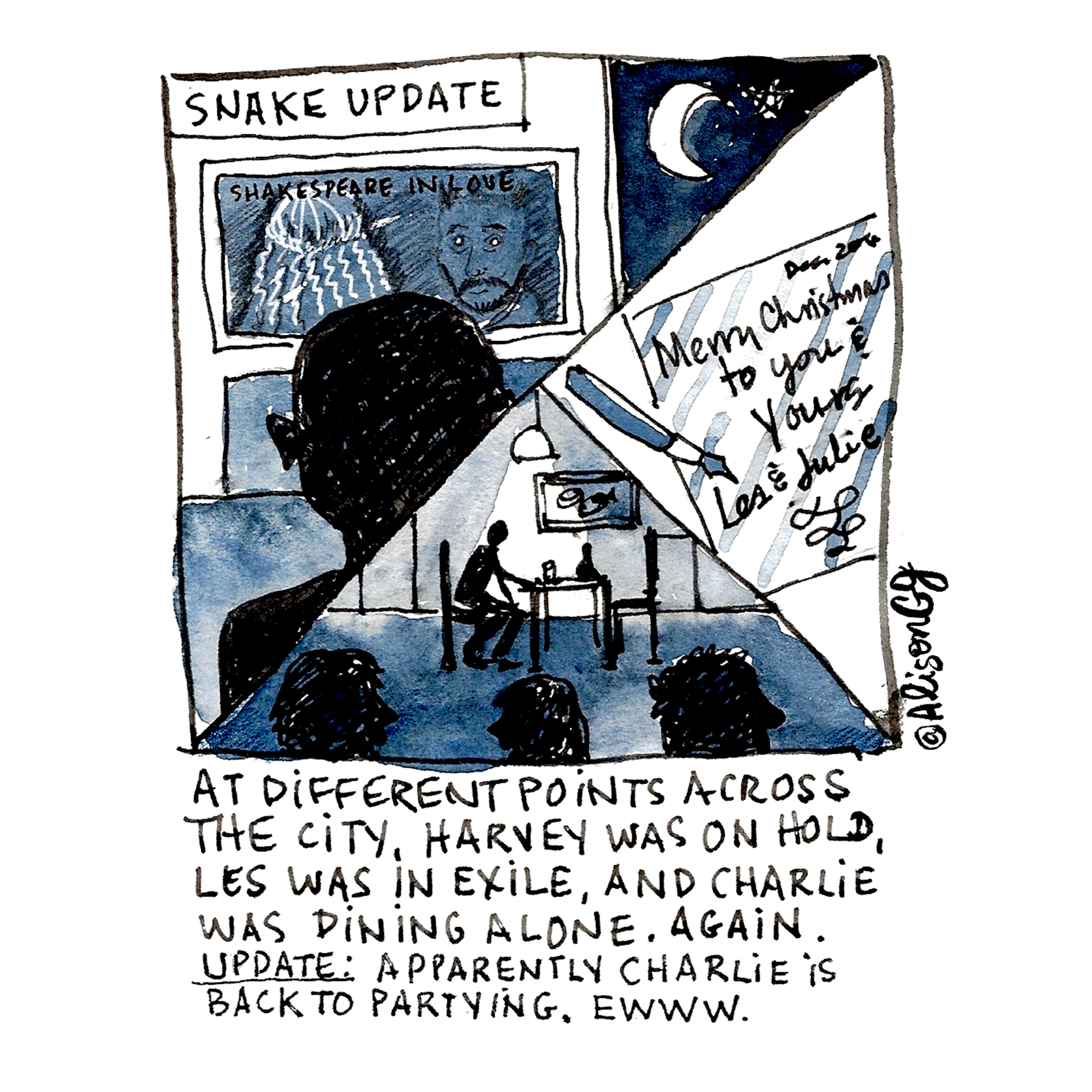 Comic by Alison Garwood-Jones