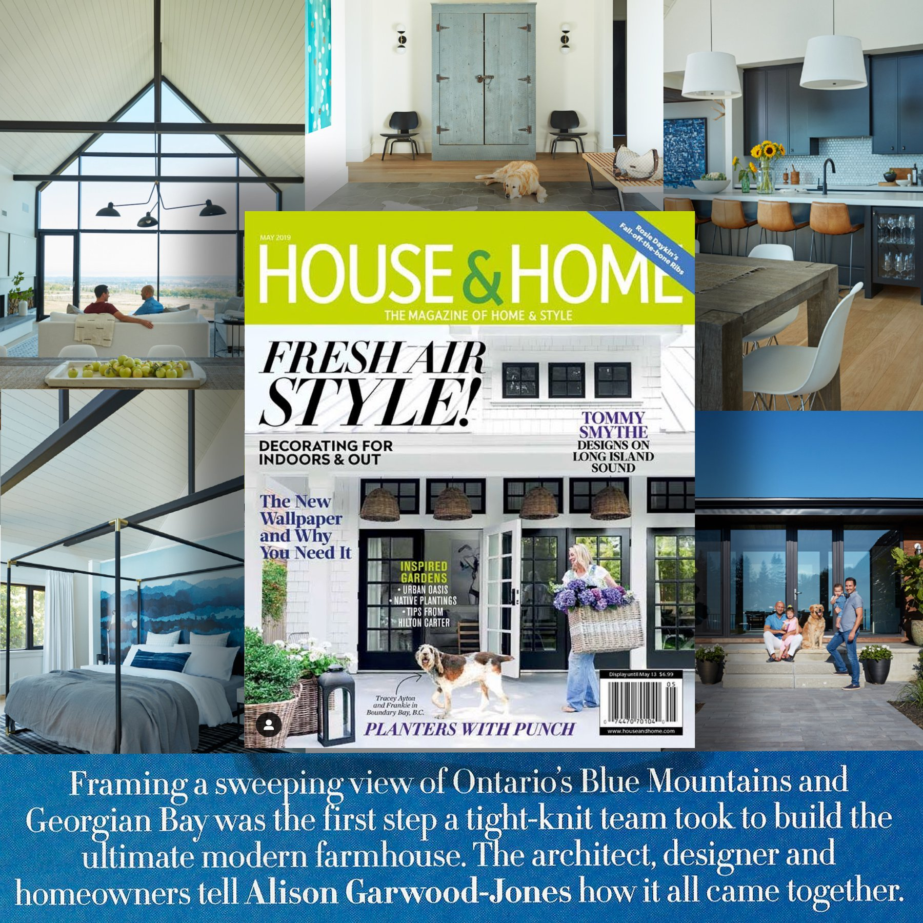 House & Home Article by Alison Garwood-Jones - May 2019