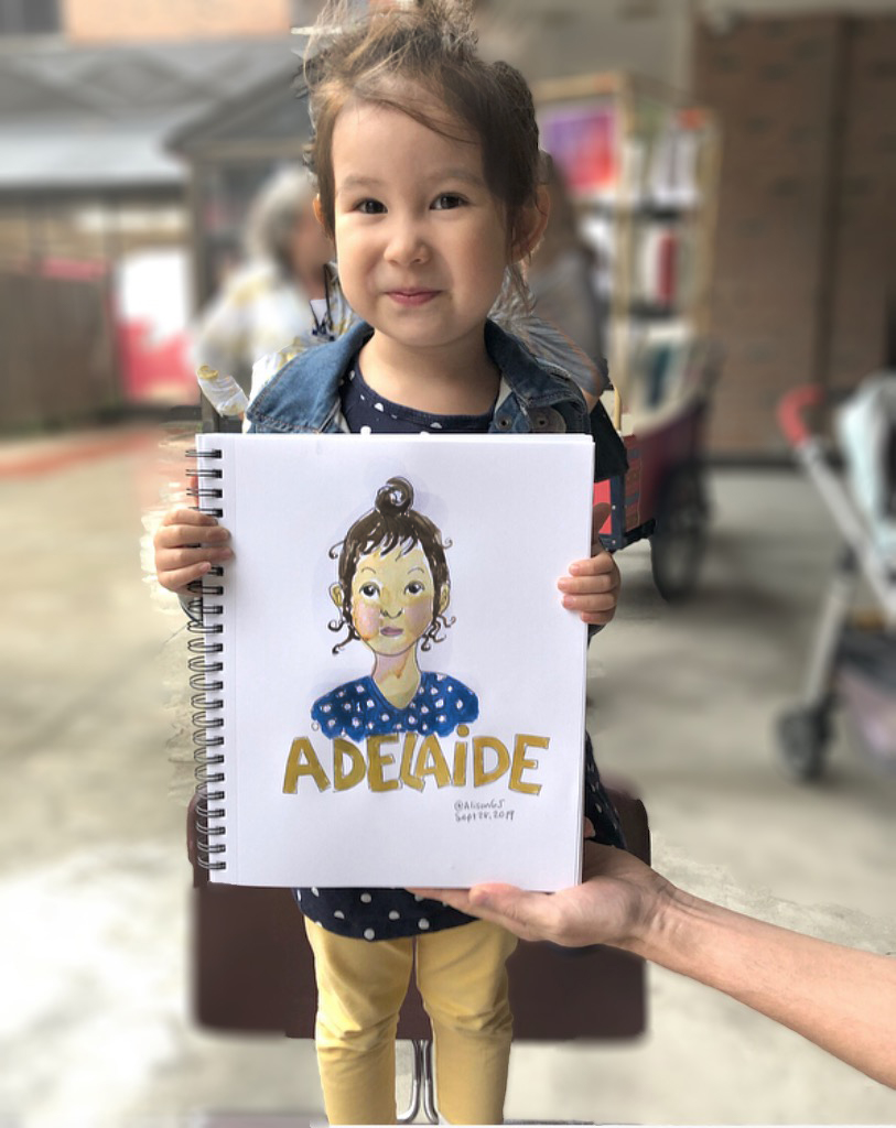 Kid portraits by Alison Garwood-Jones