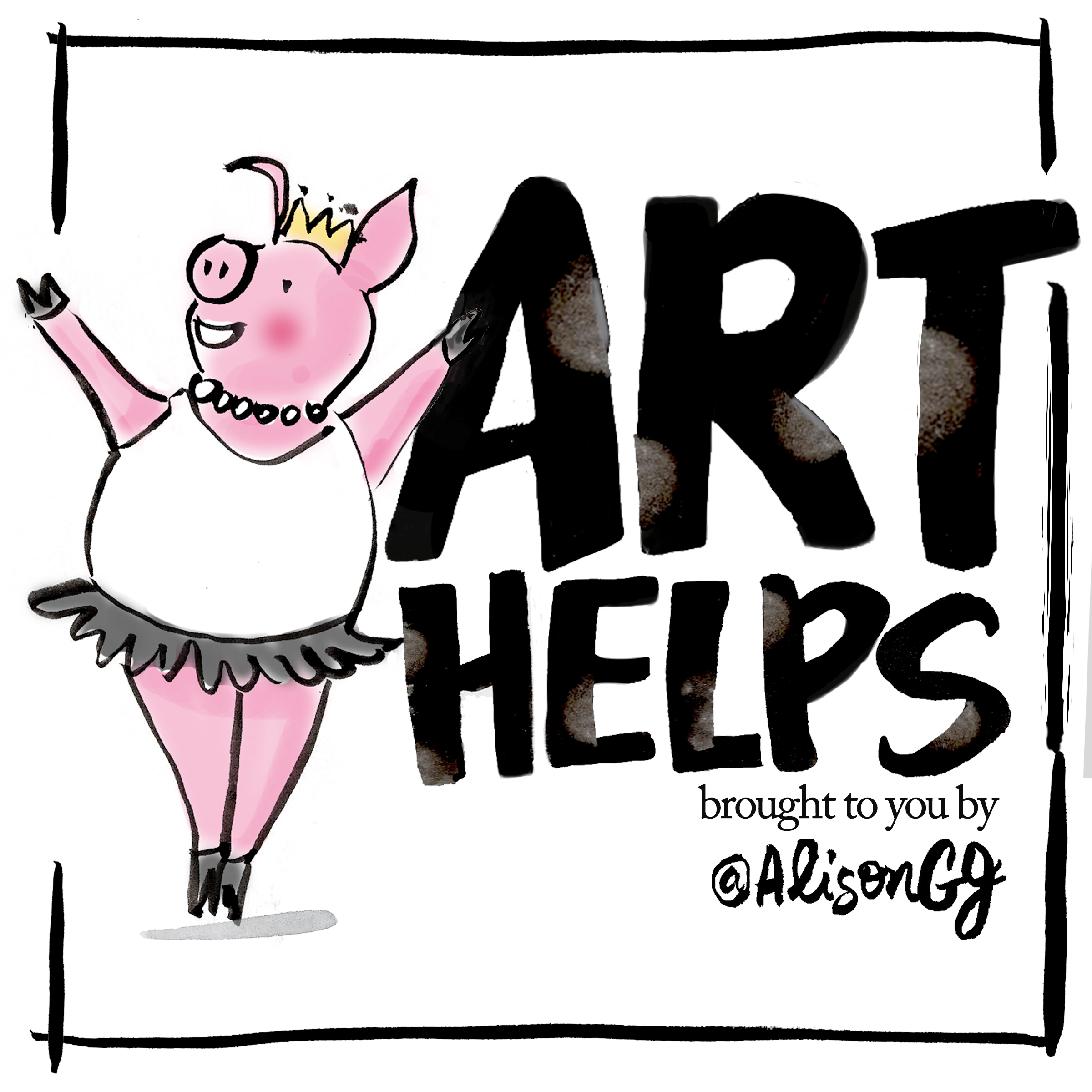 Art Helps: A Comic By Alison Garwood-Jones