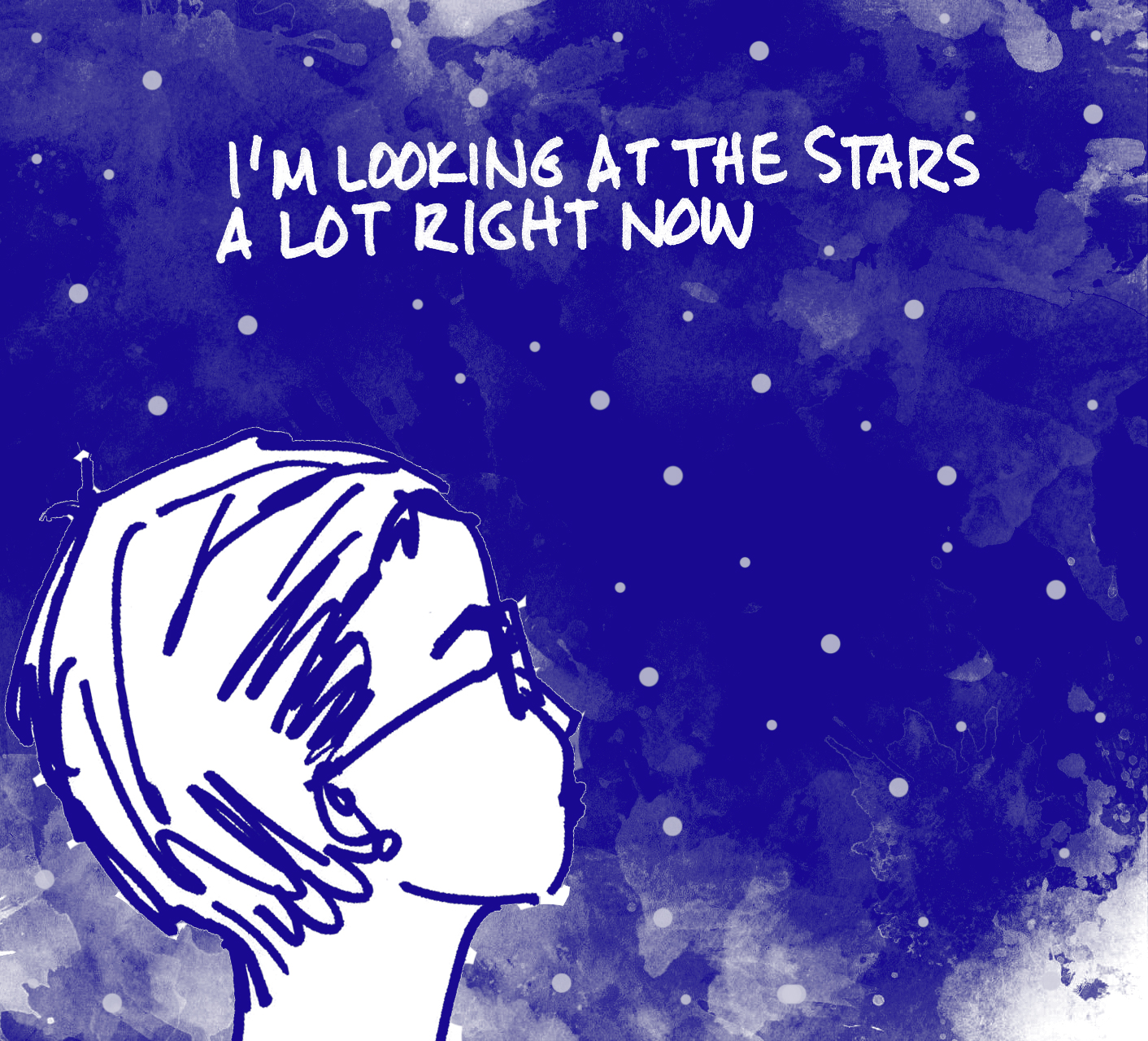 Comic by Alison Garwood-Jones inspired by Chris Hadfield