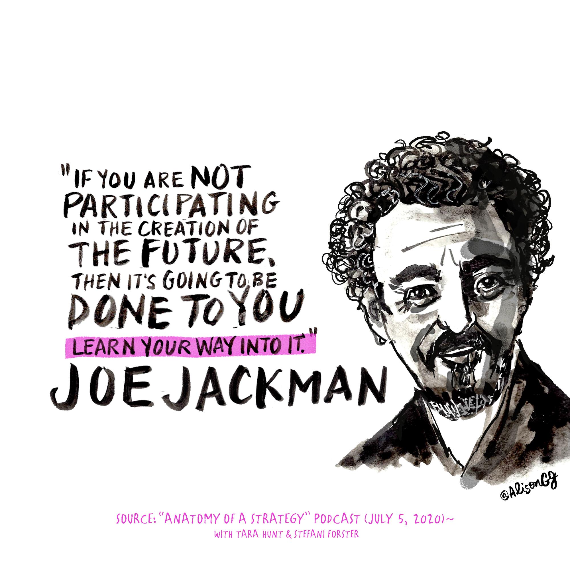 Joe Jackman, The Reinventionist