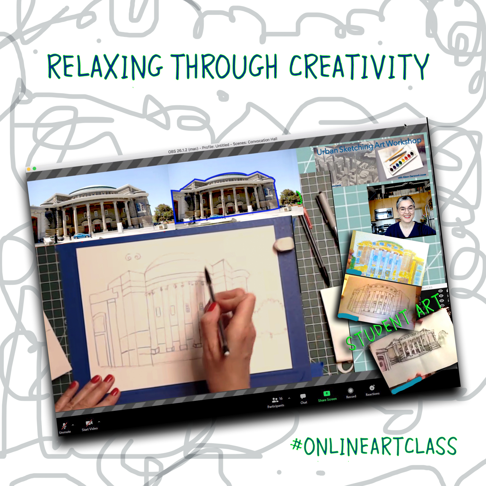 Online Art Classes by Alison Garwood-Jones