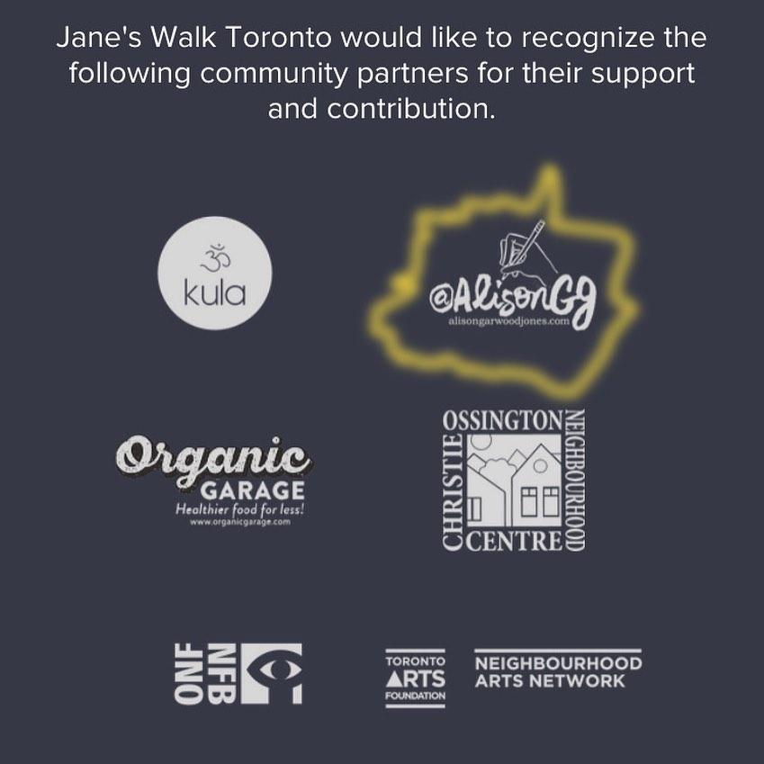 Alison Garwood-Jones and Jane's Walk Toronto 2021