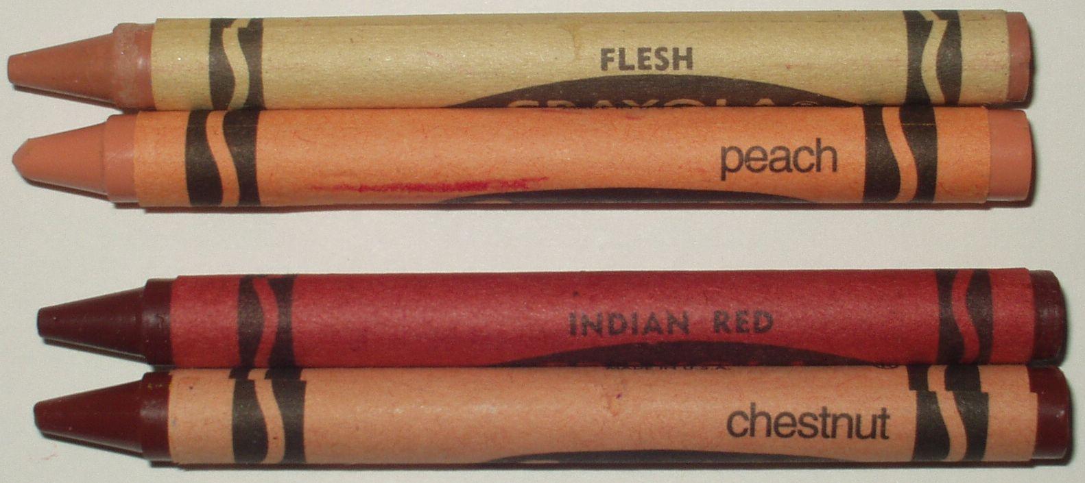 Crayola crayon names