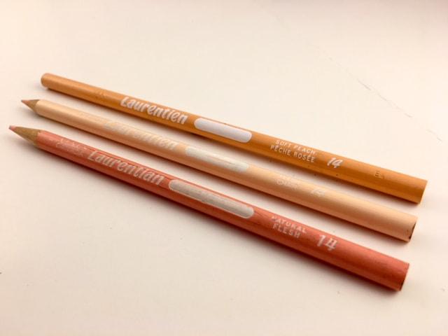 Laurentian pencil color names